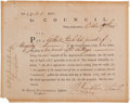 Autographs:Statesmen, Benjamin Franklin Interest Certificate Signed... (Total: 2 )