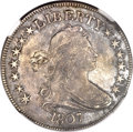 Early Half Dollars, 1807 50C Draped Bust AU50 NGC. O-105, R.1....