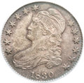 Bust Half Dollars, 1830 50C Small 0 MS64 PCGS. O-103, R.1....