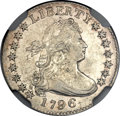 Early Dimes, 1796 10C -- Mount Removed -- NGC Details. XF. JR-2, R.4....