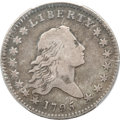 Early Half Dollars, 1795 50C 2 Leaves Fine 15 PCGS. O-104, R.4....