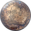 Early Dollars, 1795 $1 Draped Bust, Centered -- Cleaning -- PCGS Genuine Secure.VF Details. B-15, BB-52, R.2....