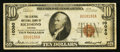 National Bank Notes:Virginia, Richmond, VA - $10 1929 Ty. 1 The Central NB Ch. # 10080. ...