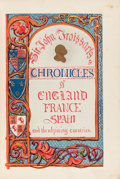 Books:World History, Sir John Froissart and H. N. Humphreys. Chronicles of England, France, Spain and the Adjoining Countries from the Reign ... (Total: 4 Items)
