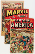 Golden Age (1938-1955):Miscellaneous, Timely Golden Age Superhero Comics Group (Timely, 1944-47).... (Total: 3 Comic Books)
