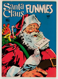 Santa Claus Funnies #2 (Dell, 1943) Condition: VF