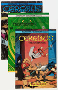 Modern Age (1980-Present):Alternative/Underground, Cerebus The Aardvark Group (Aardvark-Vanaheim, 1978-84) Condition: Average NM-.... (Total: 57 Comic Books)