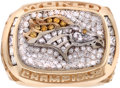 Football Collectibles:Others, 1998 Denver Broncos Super Bowl XXXII Championship Ring....