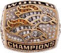 Football Collectibles:Others, 1999 Denver Broncos Super Bowl XXXIII Championship Ring....