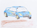 Autographs:Others, Travis Pastrana: Motocross Competitor's Doodle for Hunger.Benefiting St. Francis Food Pantries and Shelters. ...
