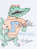 Autographs:Others, Billy Donovan: Basketball Coach's Doodle for Hunger.Benefiting St Francis Food Pantries and Shelters. ...