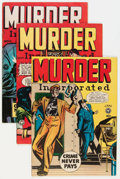 Golden Age (1938-1955):Crime, Murder Incorporated #6, 7, and 9 Group (Fox Features Syndicate, 1949) Condition: Average VG/FN.... (Total: 3 Comic Books)