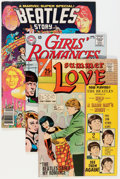 Silver Age (1956-1969):Romance, Comic Books - Assorted Beatles-Related Comics Group (VariousPublishers, 1966-76).... (Total: 3 Comic Books)