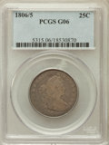 Early Quarters: , 1806/5 25C Good 6 PCGS. PCGS Population (8/164). NGC Census:(4/99). Numismedia Wsl. Price for problem free NGC/PCGS coin ...