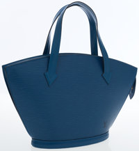 Louis Vuitton Blue Epi Leather St. Jacques PM Tote Bag