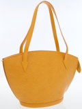 Luxury Accessories:Bags, Louis Vuitton Yellow Epi Leather Saint Jacques GM Tote Bag. ...
