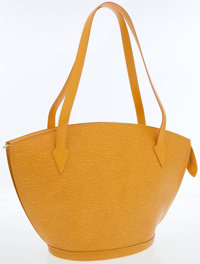 Louis Vuitton Yellow Epi Leather Saint Jacques GM Tote Bag