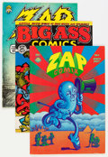 Bronze Age (1970-1979):Alternative/Underground, Robert Crumb Underground Comics Group (Various, 1970s) Condition: Average FN.... (Total: 9 Comic Books)