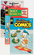 Modern Age (1980-Present):Humor, Whitman Modern Age Disney-Related Comics Box Lot (Whitman,1980s-'90s) Condition: Average VF/NM....
