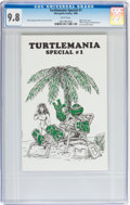 Modern Age (1980-Present):Alternative/Underground, Turtlemania Special #1 (Metropolis Comics, 1986) CGC NM/MT 9.8White pages....