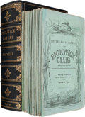 Books:Literature Pre-1900, Charles Dickens. The Posthumous Papers of the PickwickClub. With forty-three illustrations, by R. Seymour andP...