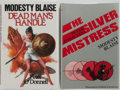 Books:First Editions, Peter O'Donnell. Group of Two Modesty Blaise titles. The SilverMistress and Dead Man's Handle. Archival... (Total: 2Items)