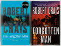 Books:Fiction, Robert Crais. Group of Two SIGNED First Editions of The Forgotten Man. Doubleday and Orion Press, 2005. Both signed ... (Total: 2 Items)