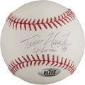 "Autographs:Baseballs, Tori Hunter ""Spiderman 48"" Single Signed Baseball/..."