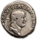 Ancients:Roman Imperial, Ancients: Vespasian (AD 69-79). AR denarius (3.34 gm)....