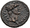 Ancients:Roman Provincial , Ancients: MACEDON. Pella or Dium. Tiberius (AD 14-37). Æ 25 (11.25gm)....