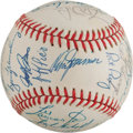Autographs:Baseballs, 1988 Chicago Cubs Team Signed Baseball. ...