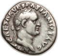Ancients:Roman Imperial, Ancients: Vespasian (AD 69-79). AR denarius (3.41 gm)....