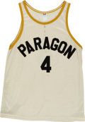 "Basketball Collectibles:Uniforms, 1986 ""Hoosiers"" Movie Worn Paragon Jersey and Shorts...."