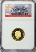 Australia, Australia: Elizabeth II gold Proof Sovereign 2005,...