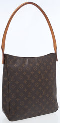Luxury Accessories:Accessories, Louis Vuitton Classic Monogram Canvas Looping GM Shoulder Bag. ...