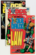 Modern Age (1980-Present):Superhero, Judge Dredd and Others Indie Comics Box Lot (Various, 1980s)Condition: Average NM....