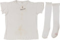 Baseball Collectibles:Others, Early 1960's Stan Musial Game Worn Undershirt & Socks....