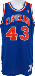 Basketball Collectibles:Uniforms, 1989-90 Brad Daugherty Game Worn Cleveland Cavaliers Jersey &Shorts. ...