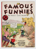 Platinum Age (1897-1937):Miscellaneous, Famous Funnies #8 (Eastern Color, 1935) Condition: QualifiedFN-....