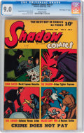 """Golden Age (1938-1955):Crime, Shadow Comics V6#7 Davis Crippen (""""D"""" Copy) pedigree (Street & Smith, 1946) CGC VF/NM 9.0 Off-white pages...."""