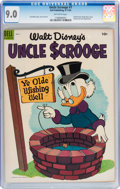 Golden Age (1938-1955):Funny Animal, Uncle Scrooge #7 (Dell, 1954) CGC VF/NM 9.0 Off-white pages....