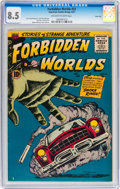 Silver Age (1956-1969):Science Fiction, Forbidden Worlds #53 River City pedigree (ACG, 1957) CGC VF+ 8.5Off-white to white pages....