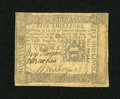 Colonial Notes:Pennsylvania, Pennsylvania October 1, 1773 5s Fine....