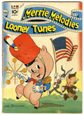 Golden Age (1938-1955):Cartoon Character, Looney Tunes and Merrie Melodies Comics #10 (Dell, 1942) Condition:GD+....