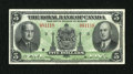 Canadian Currency: , Montreal, PQ- Royal Bank of Canada $5 Jan. 2, 1943 Charlton630-20-02. ...
