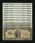 Small Size:Group Lots, Small Size Mixed Lot.. ... (Total: 13 notes)