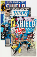Modern Age (1980-Present):Superhero, Nick Fury Agent of S.H.I.E.L.D. Box Lot - Near Complete Run(Marvel, 1983-93) Condition: NM....