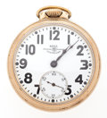 Timepieces:Pocket (post 1900), Ball 21 Jewel Open Face Pocket Watch. ...