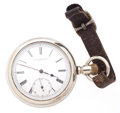 Timepieces:Pocket (pre 1900) , J.P. Steven & Co. (Swiss) Side Wind Pocket Watch. ...