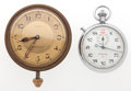 Timepieces:Pocket (post 1900), Tiffany & Co. 8-Day Over Size Pocket Watch & Endura Timer. ... (Total: 2 Items)